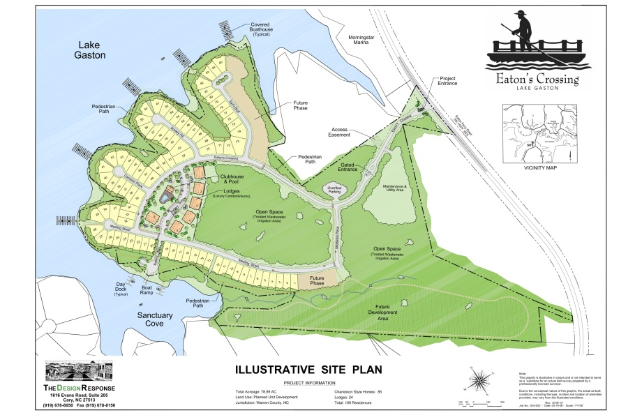 Eaton's Crossing - Illustrative Site Plan 12-6-10