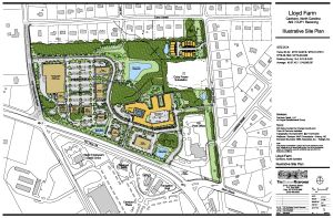 Lloyd Farm - Illustrative Site Plan (color) 8-11-14